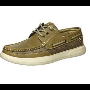 Palm margaritaville men's boat shoes NWB